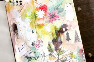 Page Art journal…