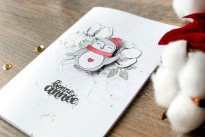 Carterie – «Bonne année» avec Mme Pingouin!!