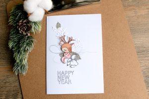 Carte «Happy new year»