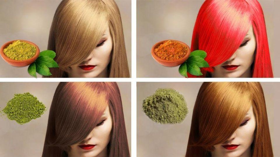 colores que adopta el cabello con la henna