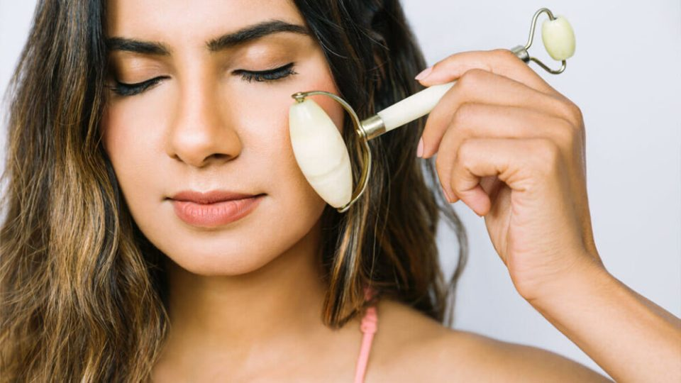 rodillo jade -mejores tipos de masajeador facial