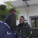 ¿Quién es usted?»: Guardia no reconoce a Rafa Nadal y casi le impide entrenar en París