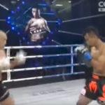 El 'Kung Fu Shaolin Nr. 1' chino es noqueado por un boxeador tailandés con un solo golpe