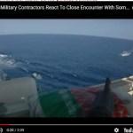 Asombroso Vídeo: Tripulantes de un barco se defienden de piratas Somalies.