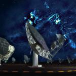 Extraña estructura en el centro de la galaxia