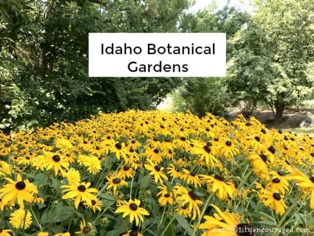 Idaho Botanical Gardens, family travel Southwest Idaho