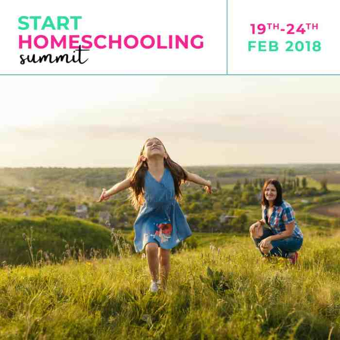 Start homeschooling summit