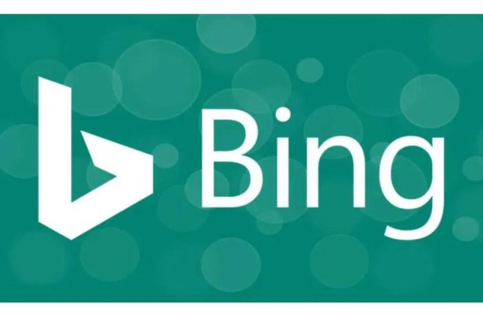 Bing wallpaper app logo.