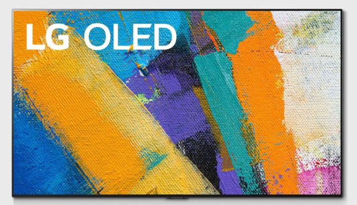 LG OLED55GX TV.