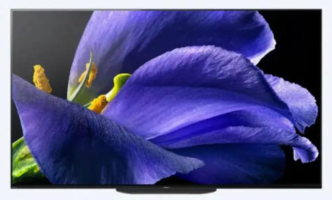 Sony OLED AG9 MASTER Series TV.