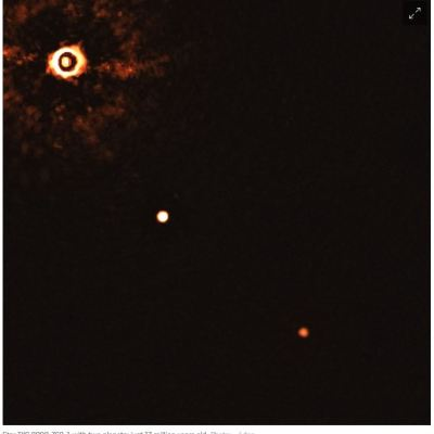 A picture of a special planetary system star tyc 8998-760-1.
