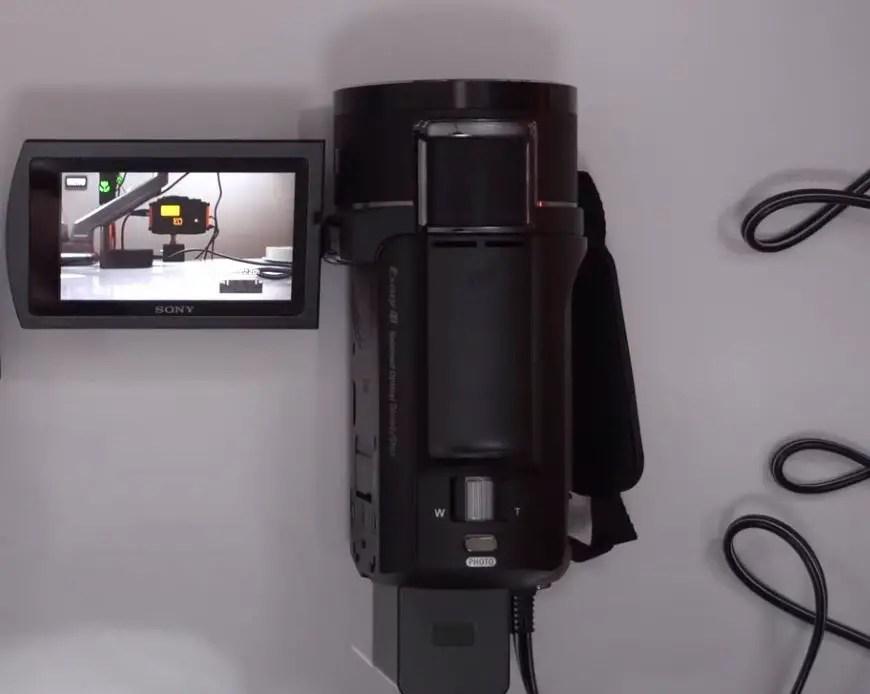 Sony Handycam 4K AX43 camera