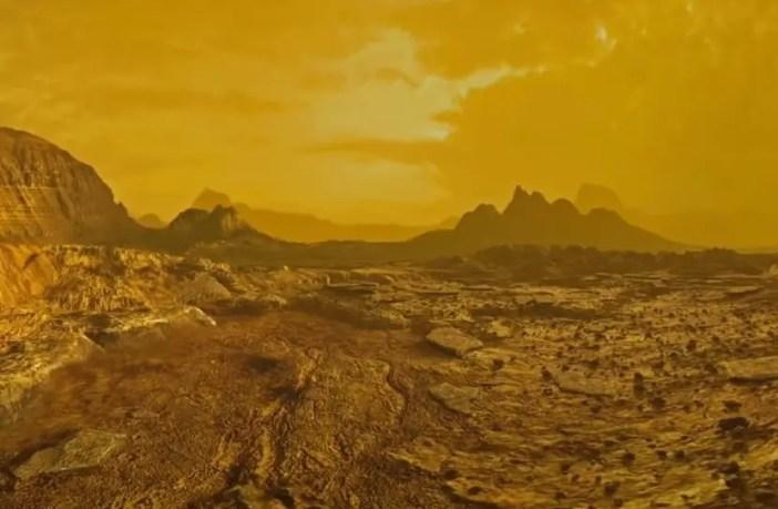 Venus surface photos.