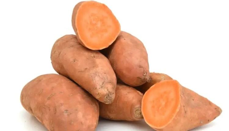 Sweet Potatoes and calcium.