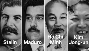 Communist leaders and dictators.