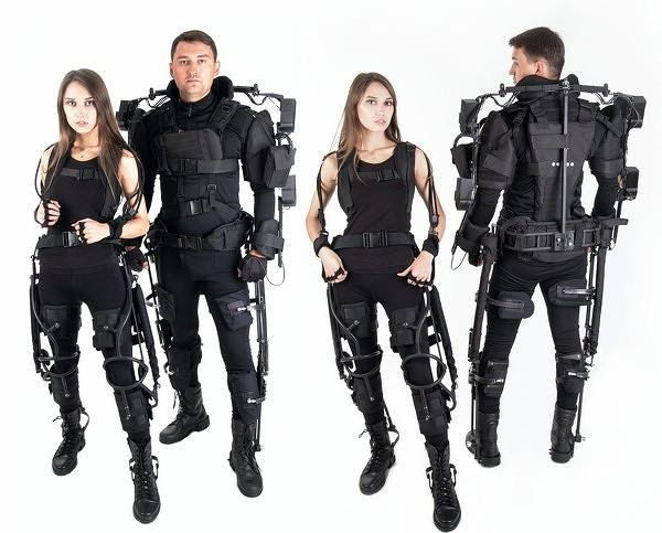 Production of Industrial Exoskeletons Begins in Russia in 2021