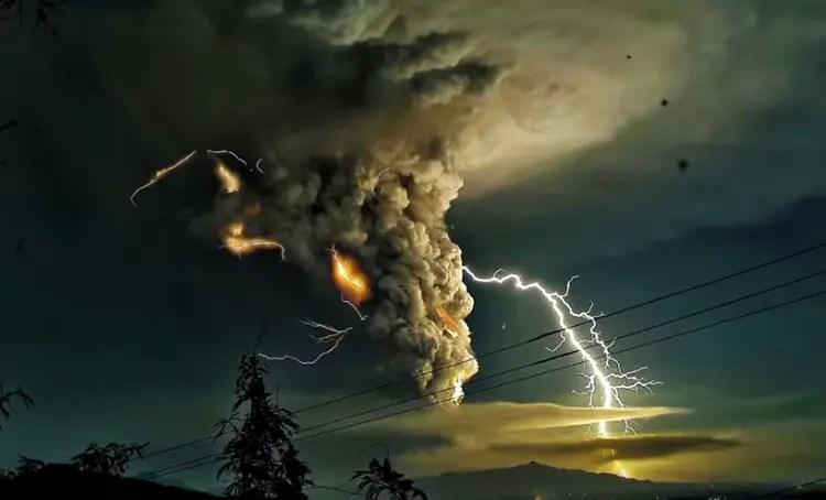 Volcanic Lightning and the Origin of Life.