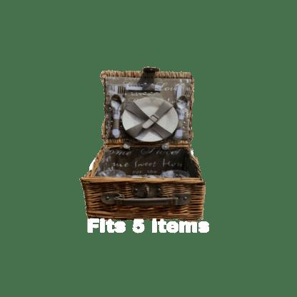 Picnic basket gift hamper