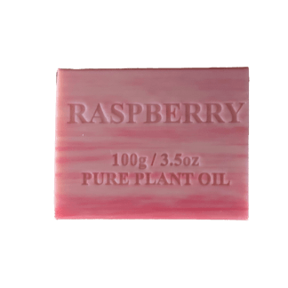 Raspberry Organic pure plant oil soap