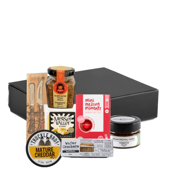 Savoury and sweet gift hamper