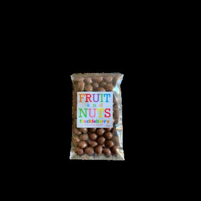 Milk chocolate peanuts-Sultanas