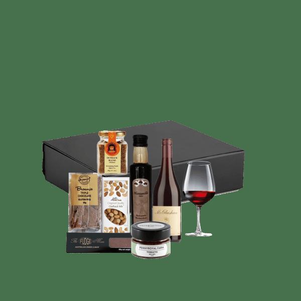 Spice and wine gift hamper