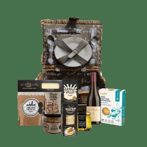 Picnic on The Bellarine gift hamper basket