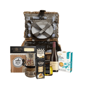 Picnic on The Bellarine gift hamper basket