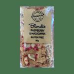 RASPBERRY & MACADAMIA BLONDIE