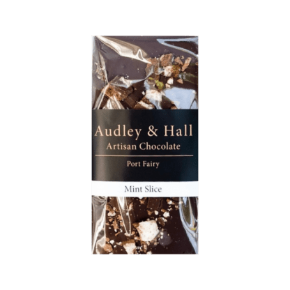 Audrey and Hall mint slice chocolate