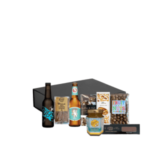 Trail mix gift hamper