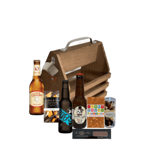 Craft beer caddy-chocolate and beer lover