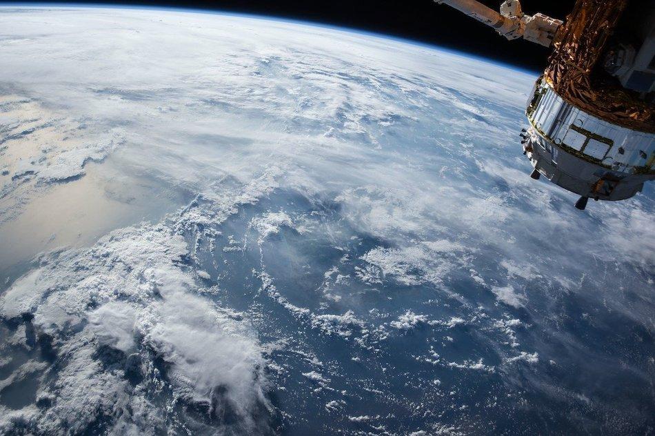 satellite orbiting earth