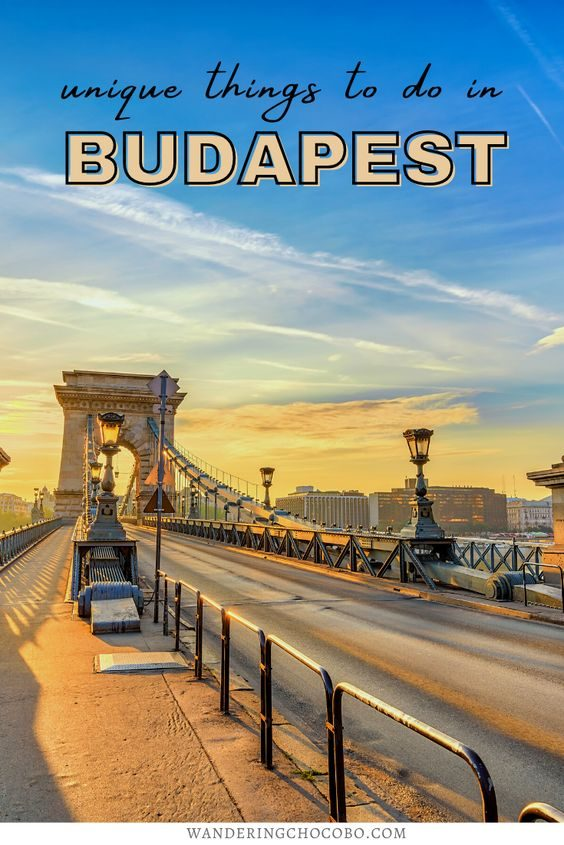 hipster guide to budapest