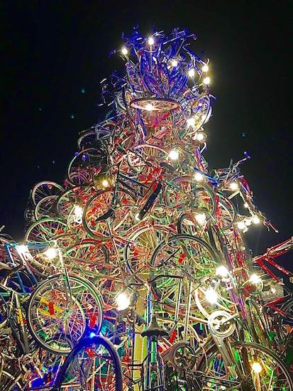 Munich Christmas Market Tollwood 1
