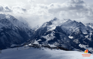 Skiing and snowboarding German & Austrian Alps near Munich