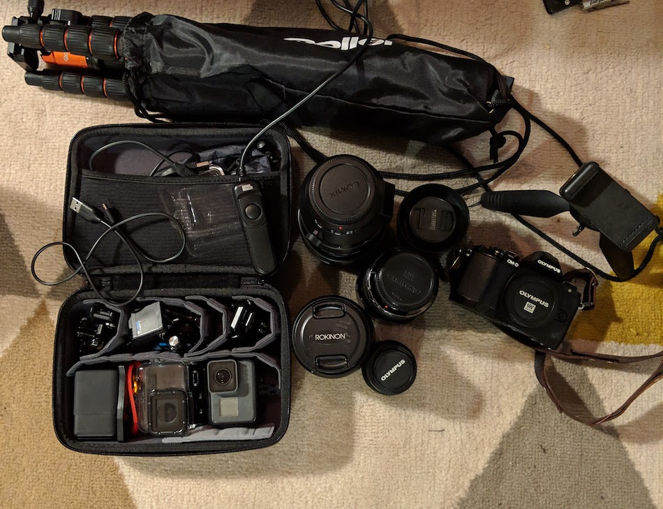 Photography gear to pack for New Zealand