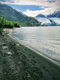 Portage Glacier Lake HIke Alaska Whittier