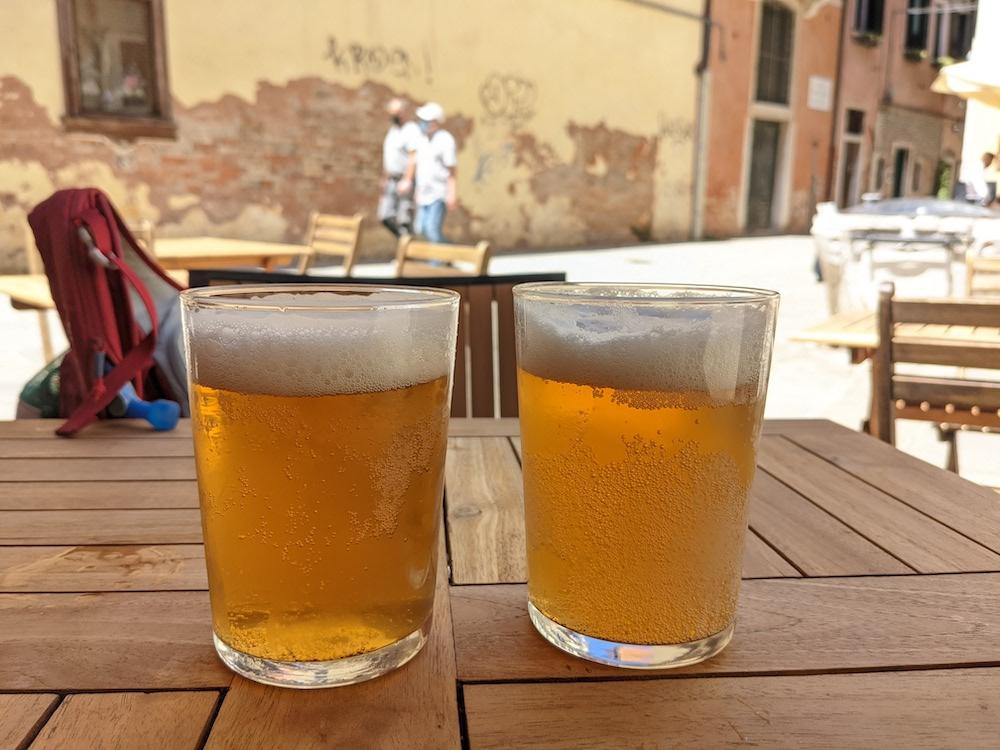 Local Beer in Venice