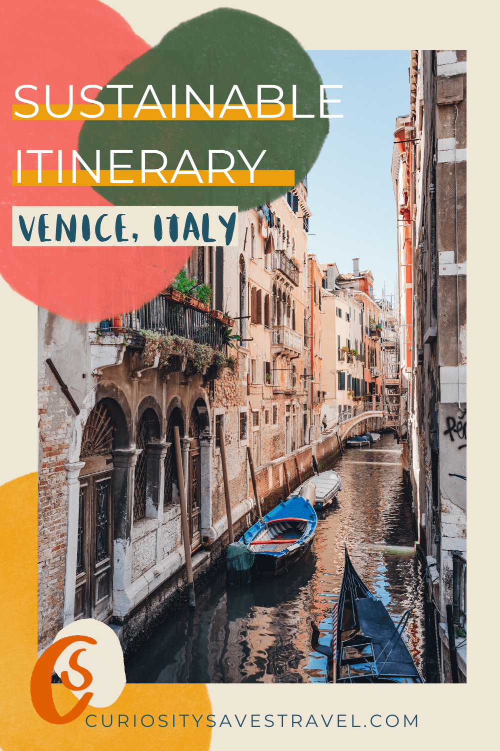 Sustainable 3-day Itinerary for Venice