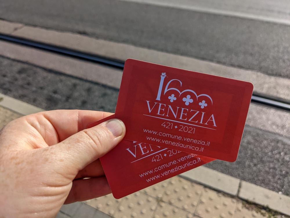 Venice Transportation Card