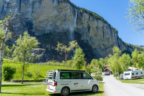Camping Jungfrau Switzerland Campervan 1
