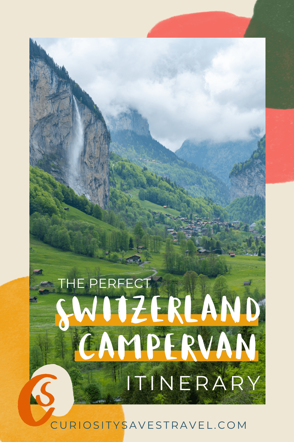 perfect switzerland campervan and road trip itinerary