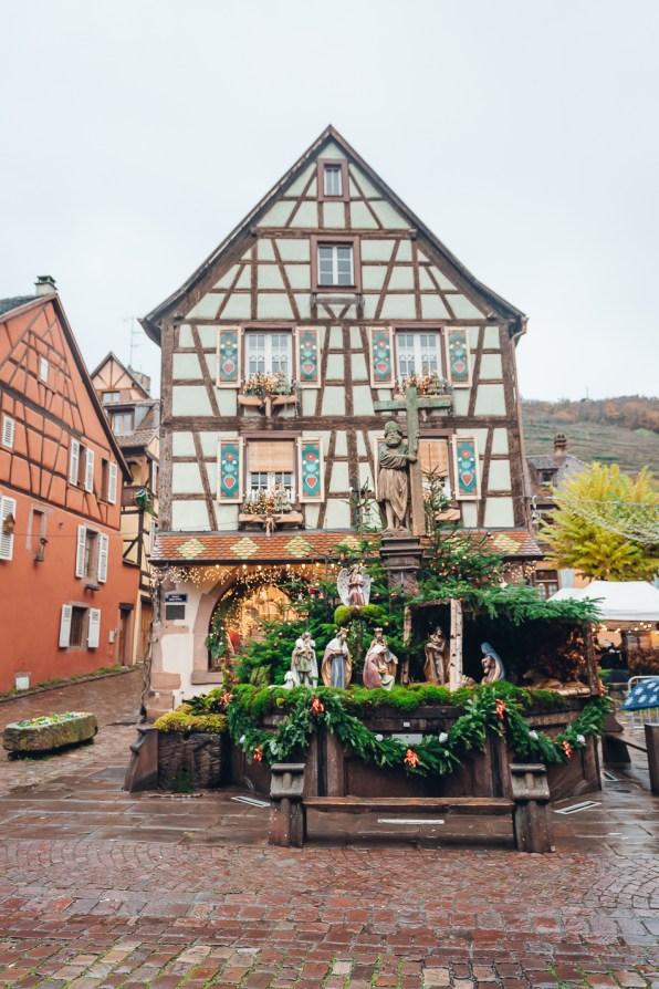 Kaysersberg Christmas Market Timber House