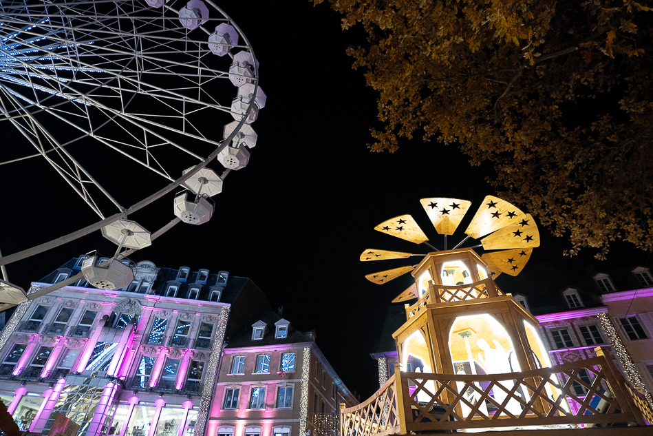 Mulhouse Christmas market Ferris Wheel