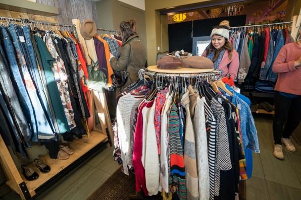 Kingersheim Christmas Market eco thrifting