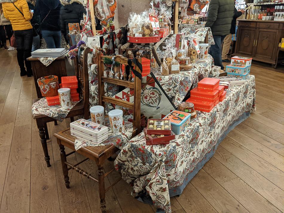 Mulhouse Christmas market fabric