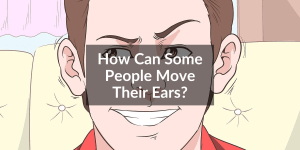 man with ear