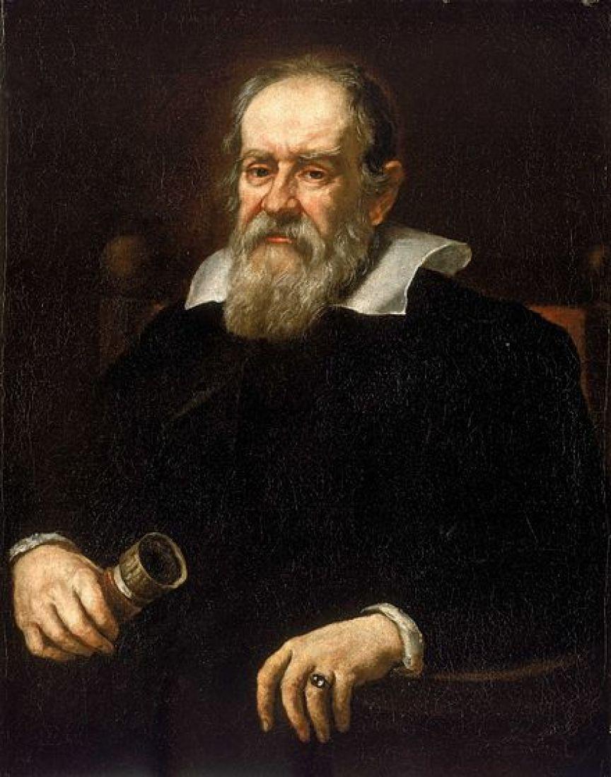A portrait of Galileo Galilei. Image Credit: Wikimedia Commons.
