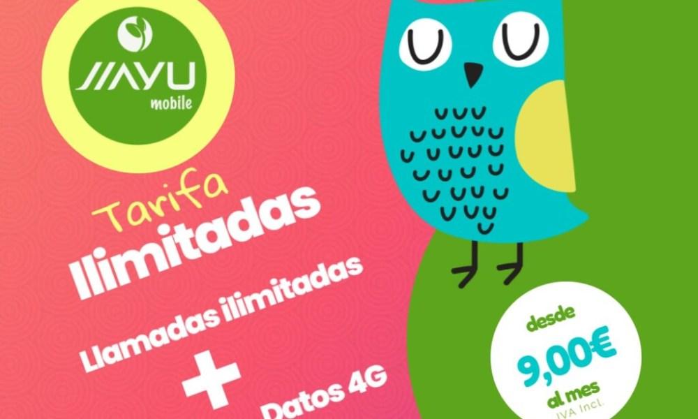 Jiayu mobile estrena tarifas con minutos ilimitados desde 11 GB por 9 euros, y hasta 33 GB por 15 euros